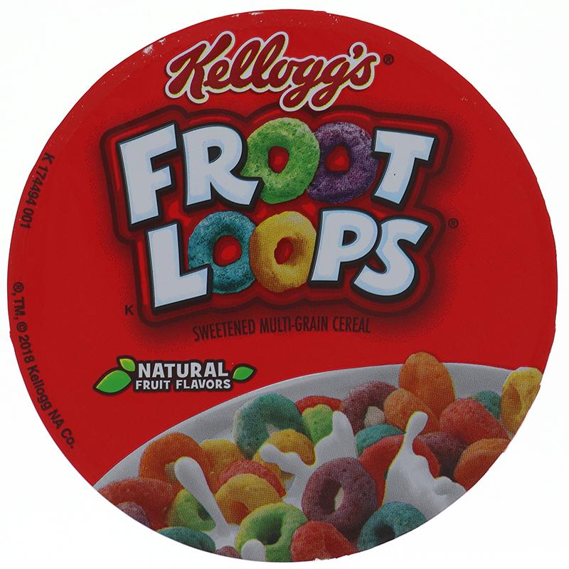 Kelloggs Cereal In Cup Froot Loops 1.5oz