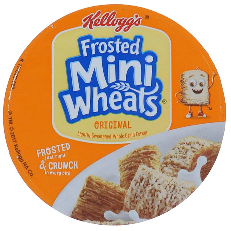 Kelloggs Cereal In Cup Frosted Mini Wheats 2.5oz