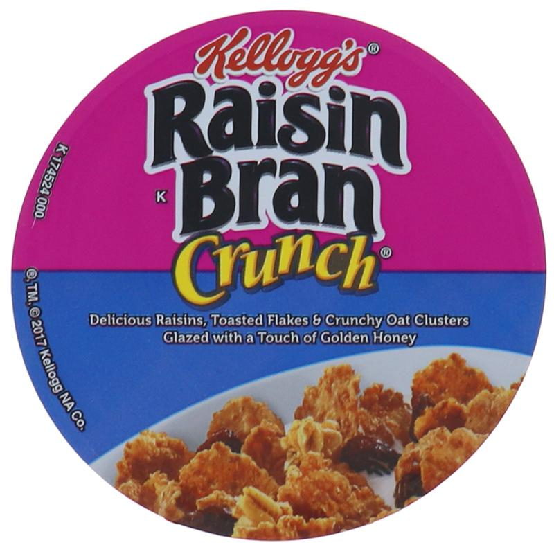 Kelloggs Cereal In Cup Raisin Bran Crunch 2.8oz