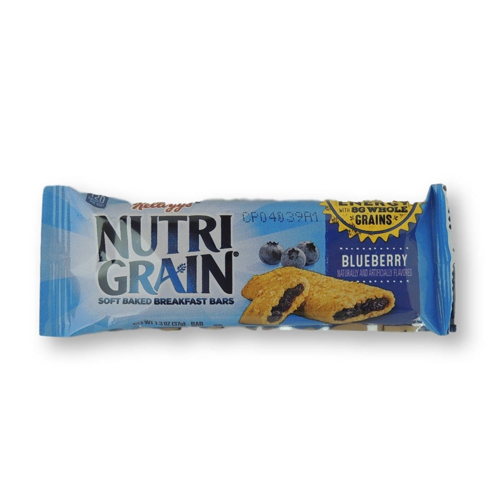 Kelloggs Nutri-Grain Cereal Bar Blueberry 1.3 Oz