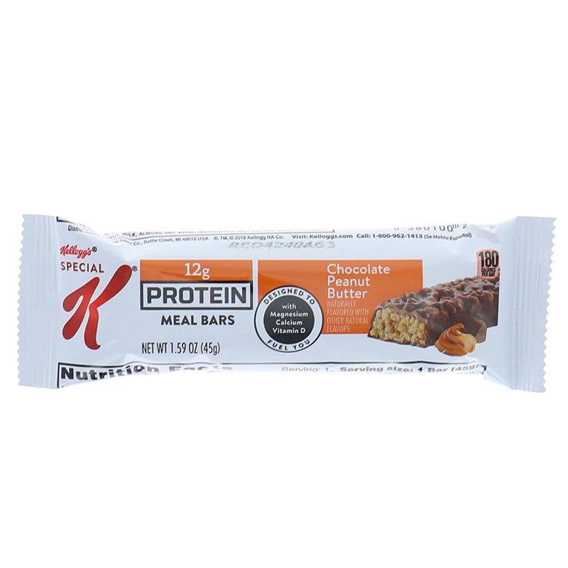 Kelloggs Special Protien Meal Bar, Chocolate Peanut Butter