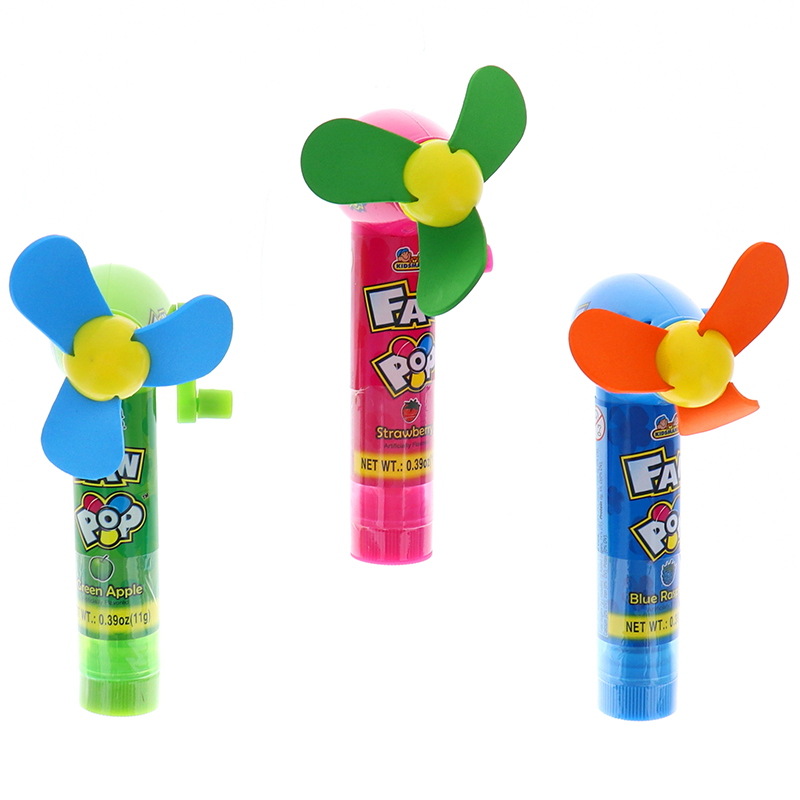 Kidsmania Fan Pop Assorted Candy 3 Pcs