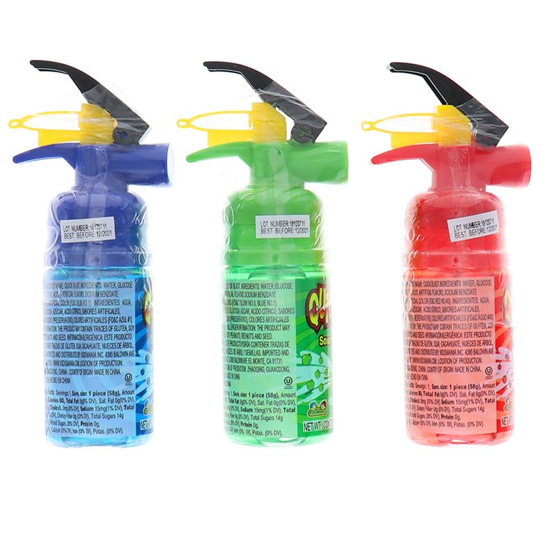 Kidsmania Quick Blast Sour Candy Spray Assorted 3 Pcs