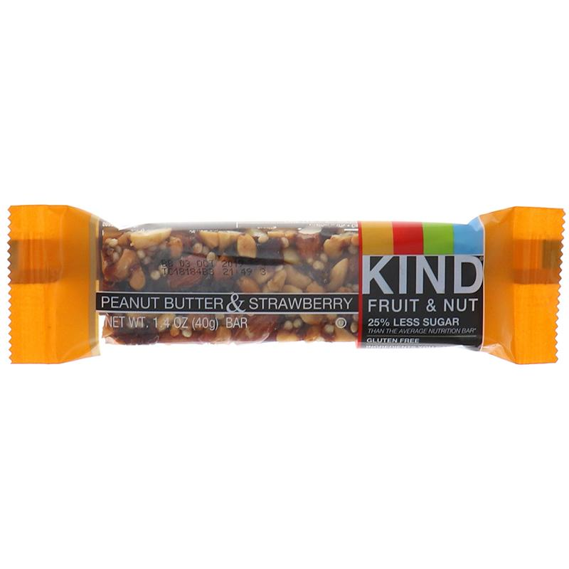Kind Fruit & Nut Peanut Butter & Strawberry