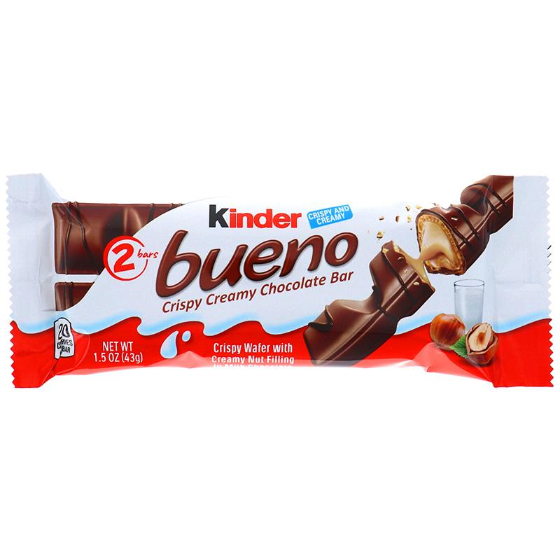 Kinder Bueno Standard Size Bar 1.5oz