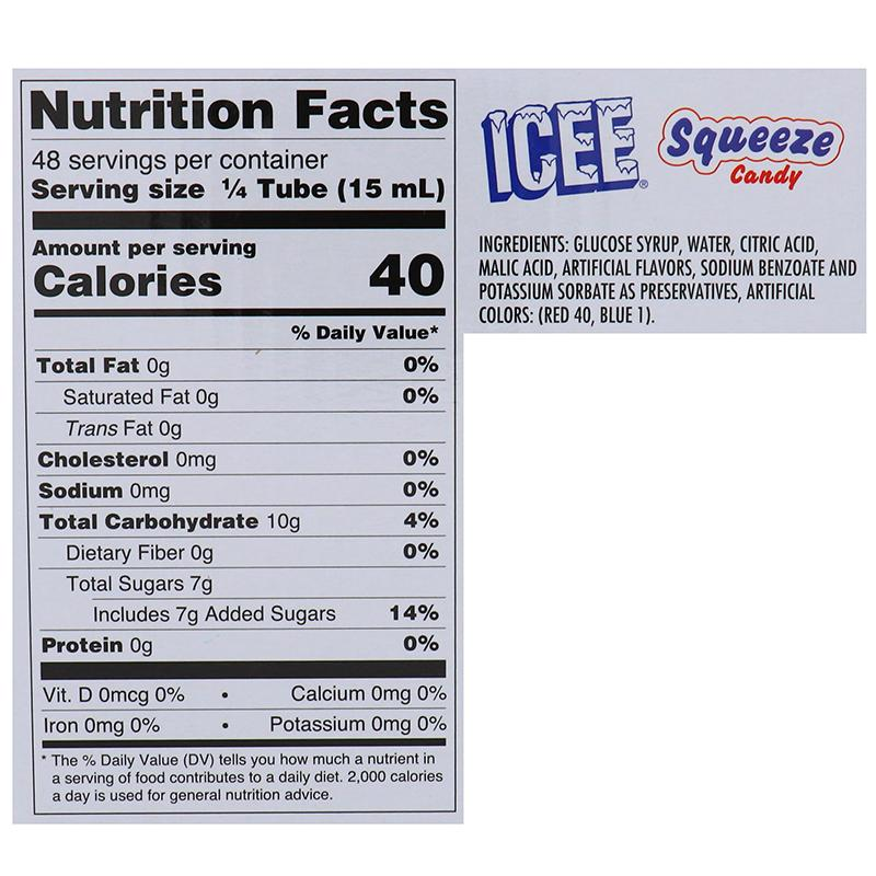 Kokos Ice Squeeze Candy 2.1oz