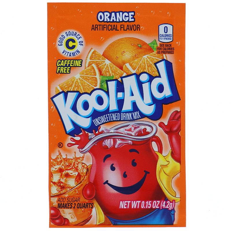 Kool-Aid Orange Packets 0.13 Oz