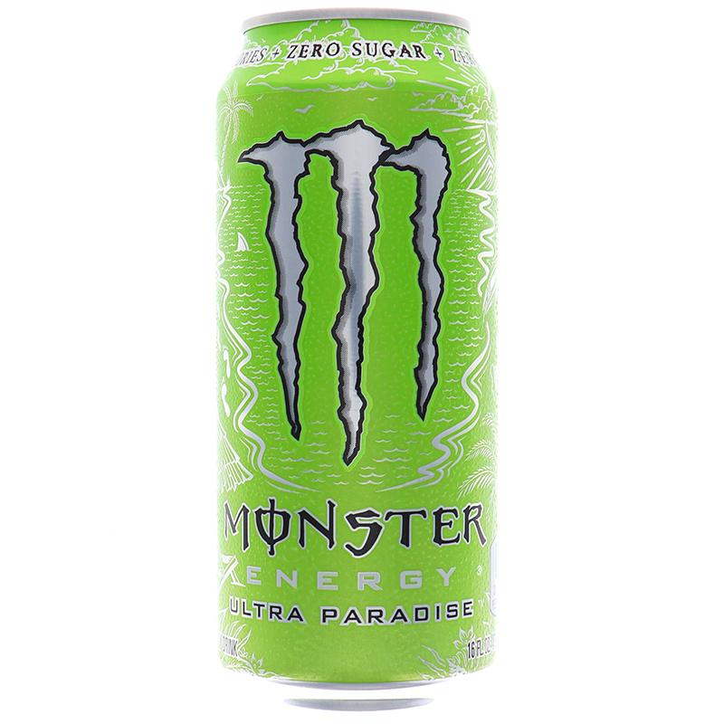 Monster Energy Ultra Paradise Sugar Free Drink 16oz
