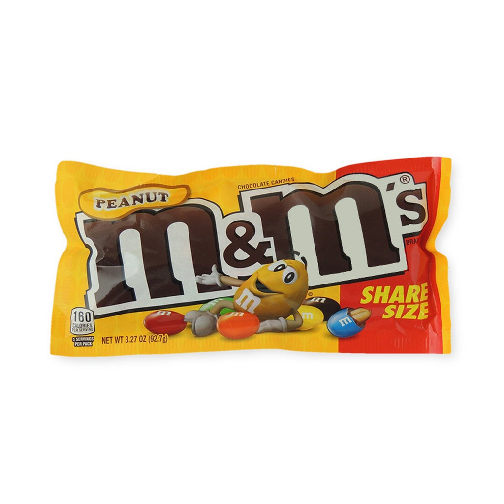 M & M King Size Peanut Chocolate 3.27 Oz