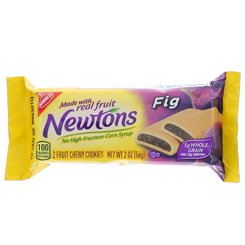 Newtons Fig Made With Real Fruit, Cookie