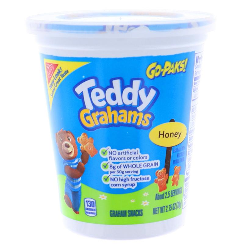 Teddy Grahams Honey Go Packs, Cookie