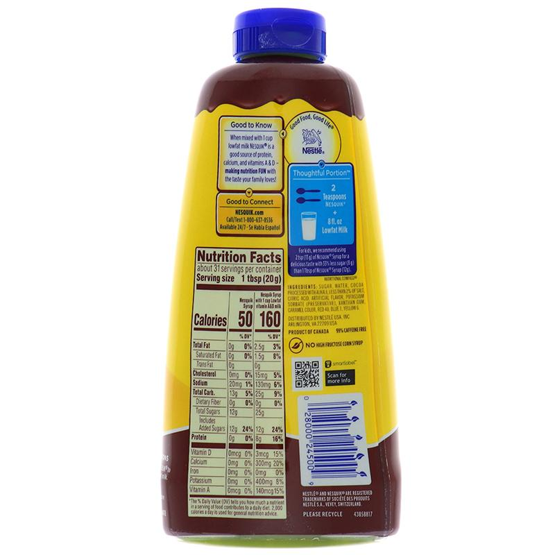 Nesquik Chocolate Syrup 22oz