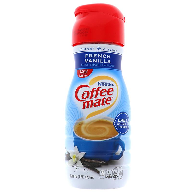 Nestle Coffee-Mate Coffee Creamer Liquid - French Vanilla 16oz