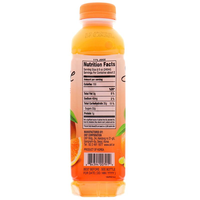 Okf Smoothie Orange Flavor 16.9oz