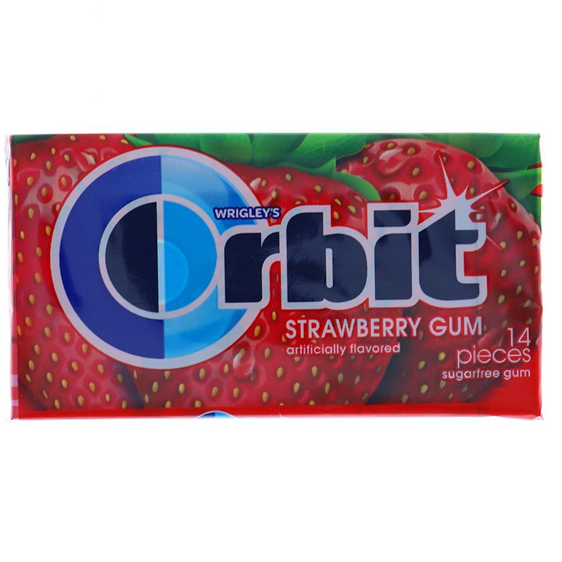 Orbit Strawberry Remix 14s