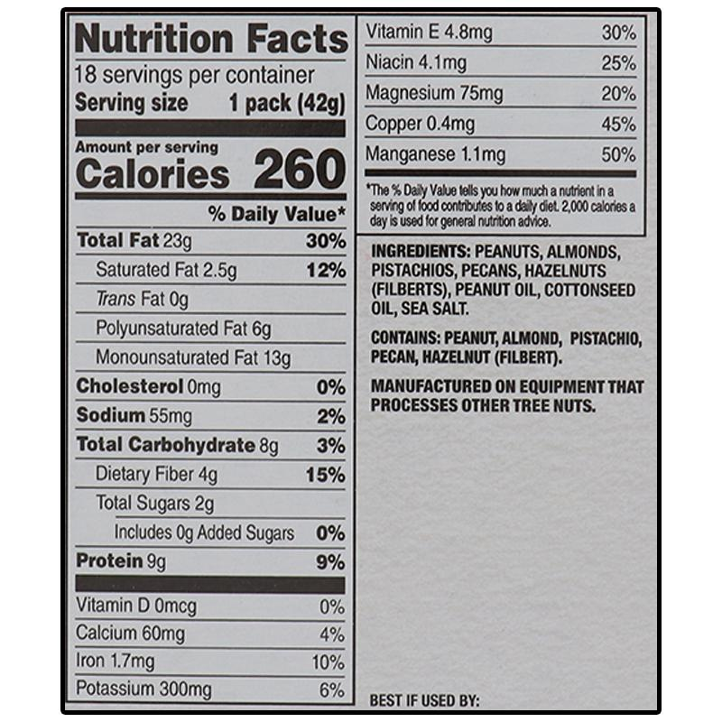 Planters Nut-Rition Heart Health Mix 1.5 Oz