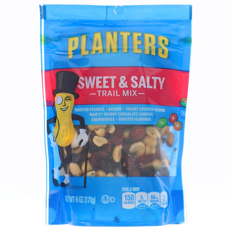 Planters Trail Mix Sweet & Salty 6 Oz