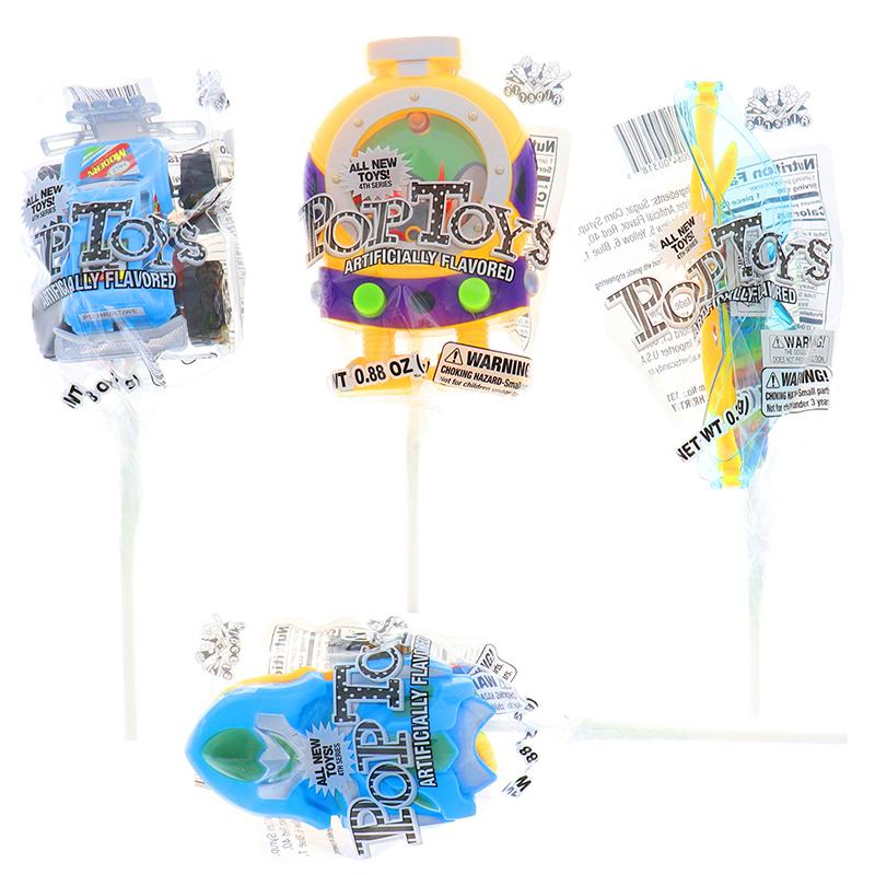 Pop Toys Candy Assorted 4 Pcs