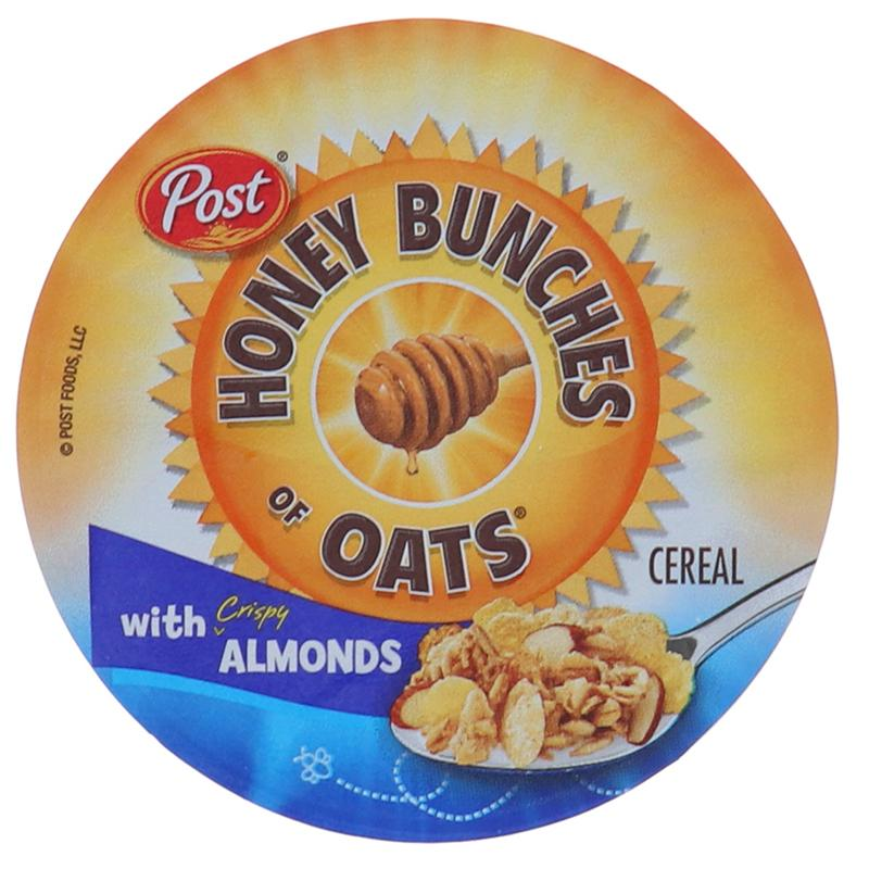 Post Honey Bunch Of Oats Cereal In Cup Almond 2.25oz