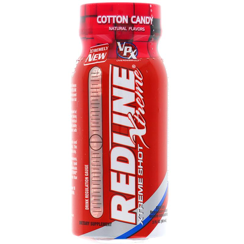 Redline Xtreme Energy Boost Cotton Candy Flavor 3oz