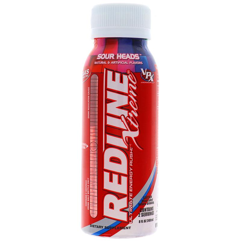 Redline Xtreme Sour Heads 8 Oz