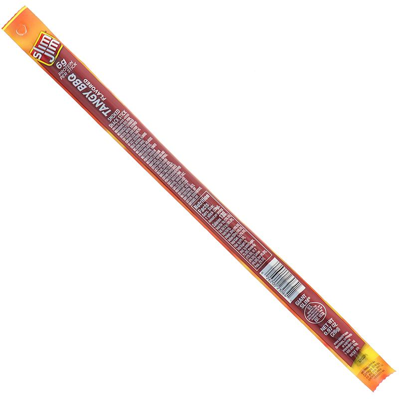 Slim Jim Giant Tangy Bbq Flavored Stick 0.97 Oz