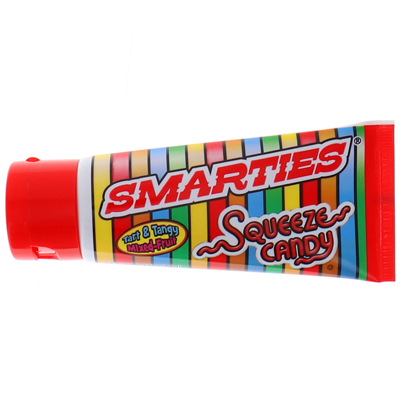 Smarties Squeeze Candy Tube 2.25 Oz