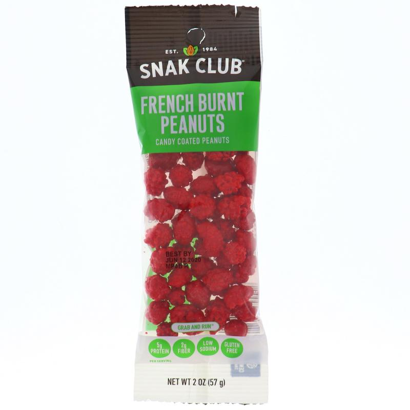 Snak Club French Burnt Peanuts - Tube
