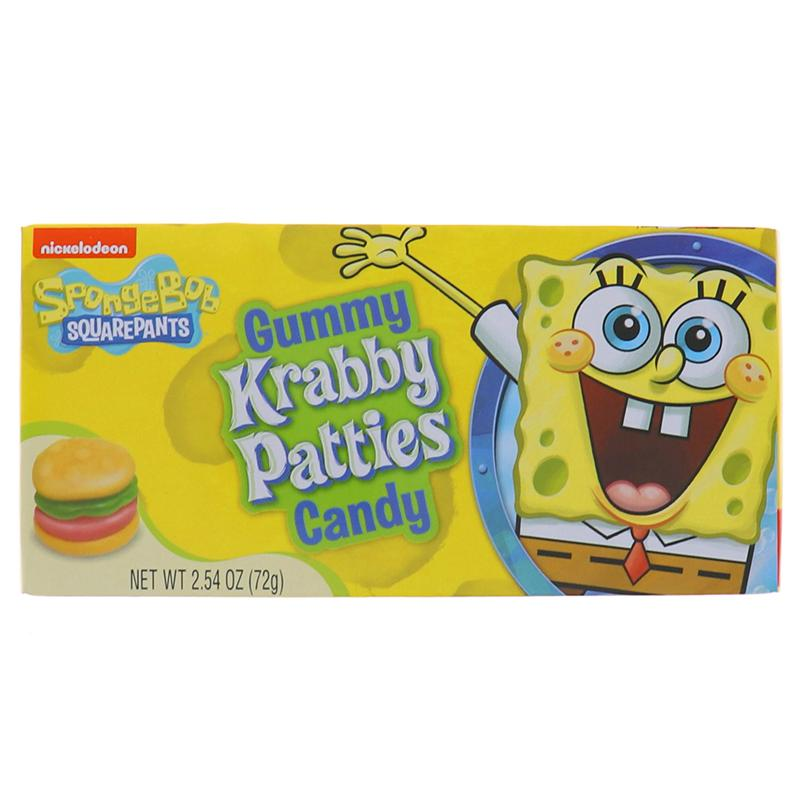 Krabby Patties Gummy Candy