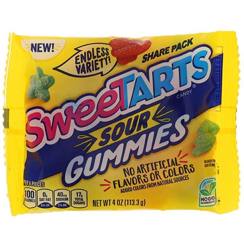 Sweetarts Sour Gummies - King Size 4 Oz