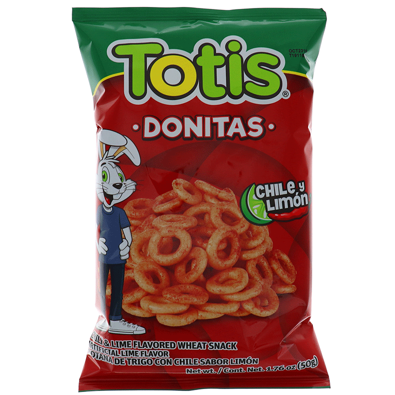 Totis Donitas Chili Lemon 1.76 Oz