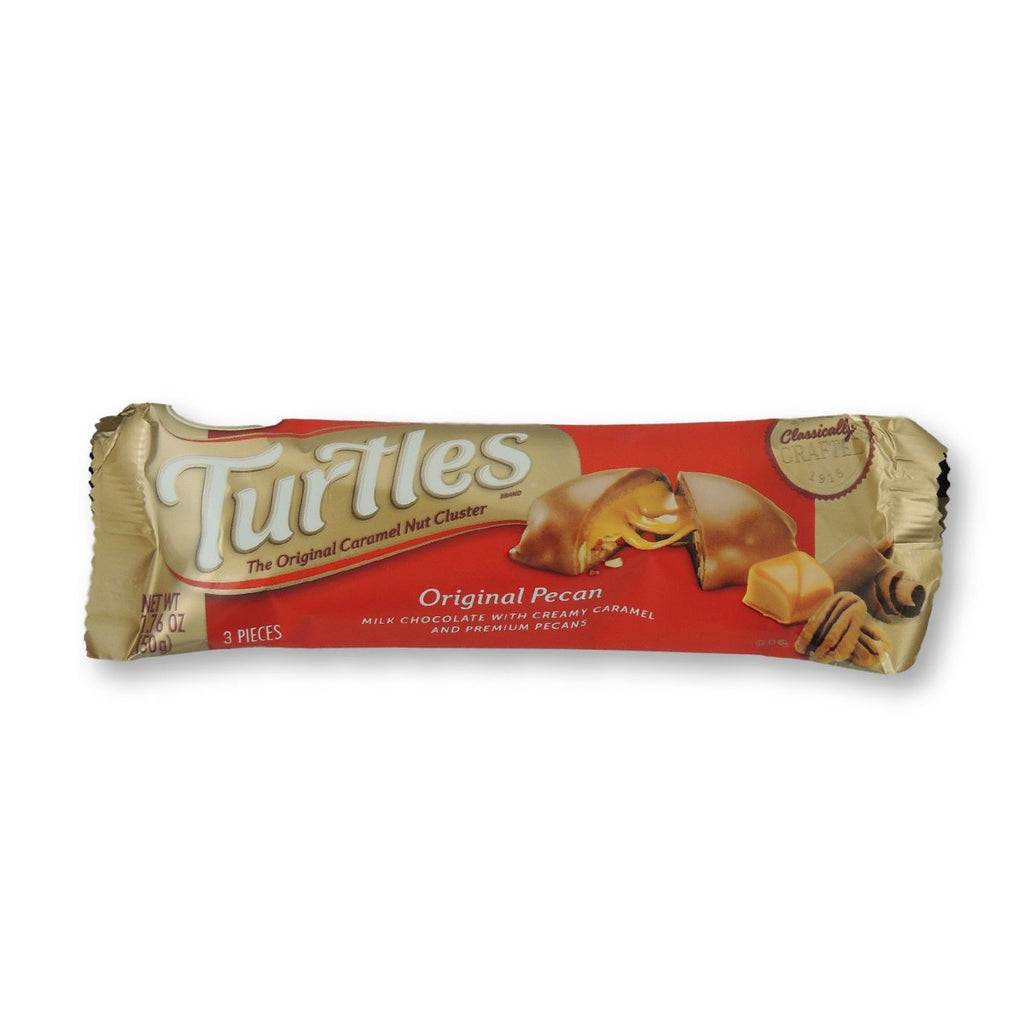 Turtles King Size Original Pecans/Chocolate/Caramel Bars 1.76 Oz
