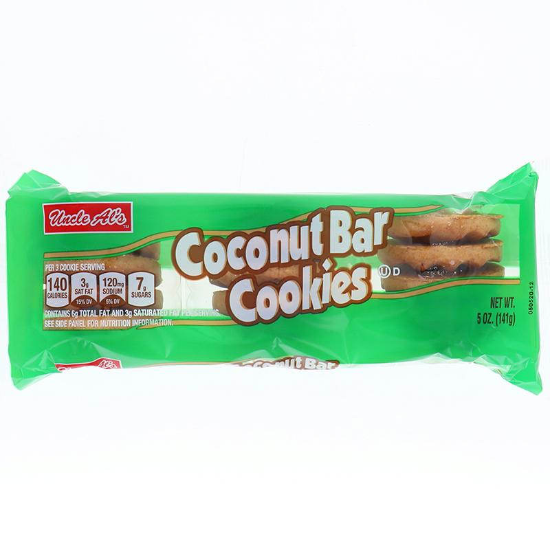 Uncle Als Coconut Bar Cookie 5 Oz
