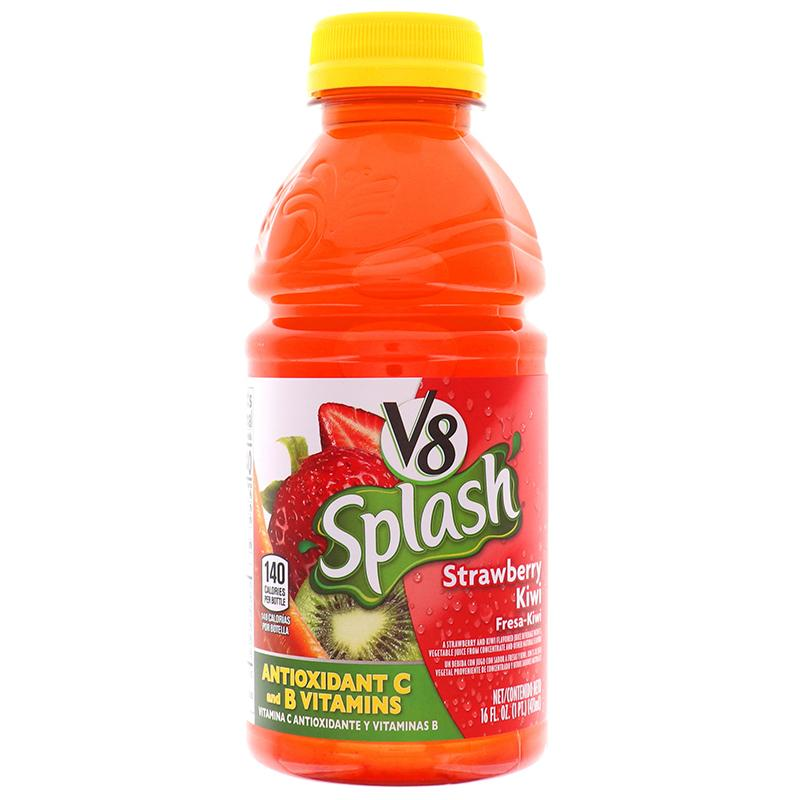 V8 Splash Strawberry-Kiwi 16 Oz
