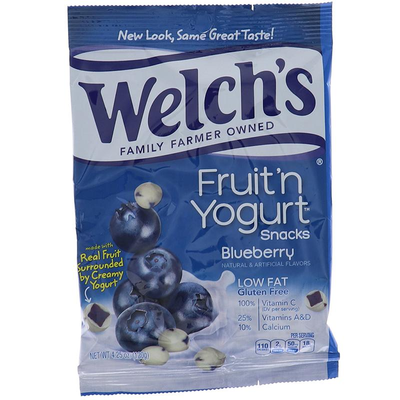 Welchs Peg Fruit N Yogurt Snack - Blueberry 4.25 Oz