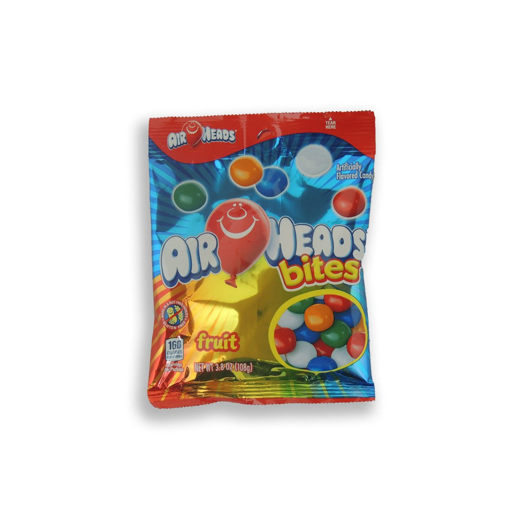 Airheads Bites Peg Bag Fruit 3.8 Oz