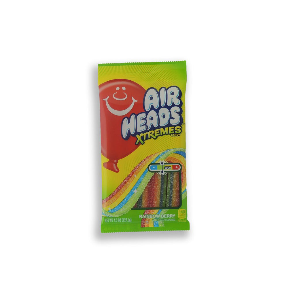 Airheads Xtreme Rainbow Berry Belts 4.5 Oz