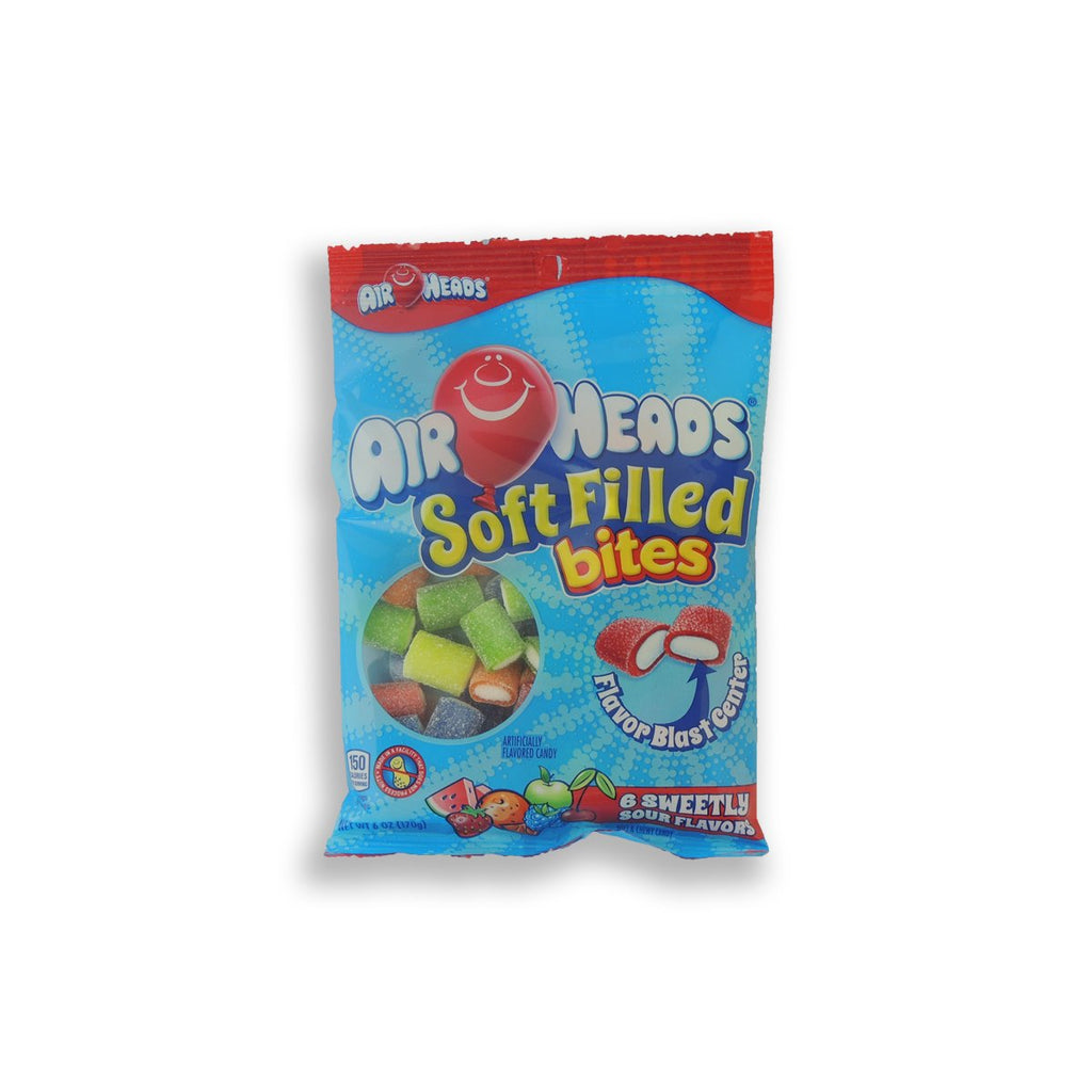 Airheads Soft Filled Bites 6 Oz
