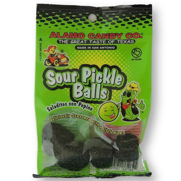 Alamo Candy Sour Pickle Balls The Original