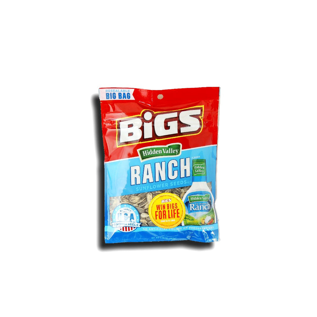 Bigs Sunflower Seeds Hidden Valley Ranch 5.35 Oz