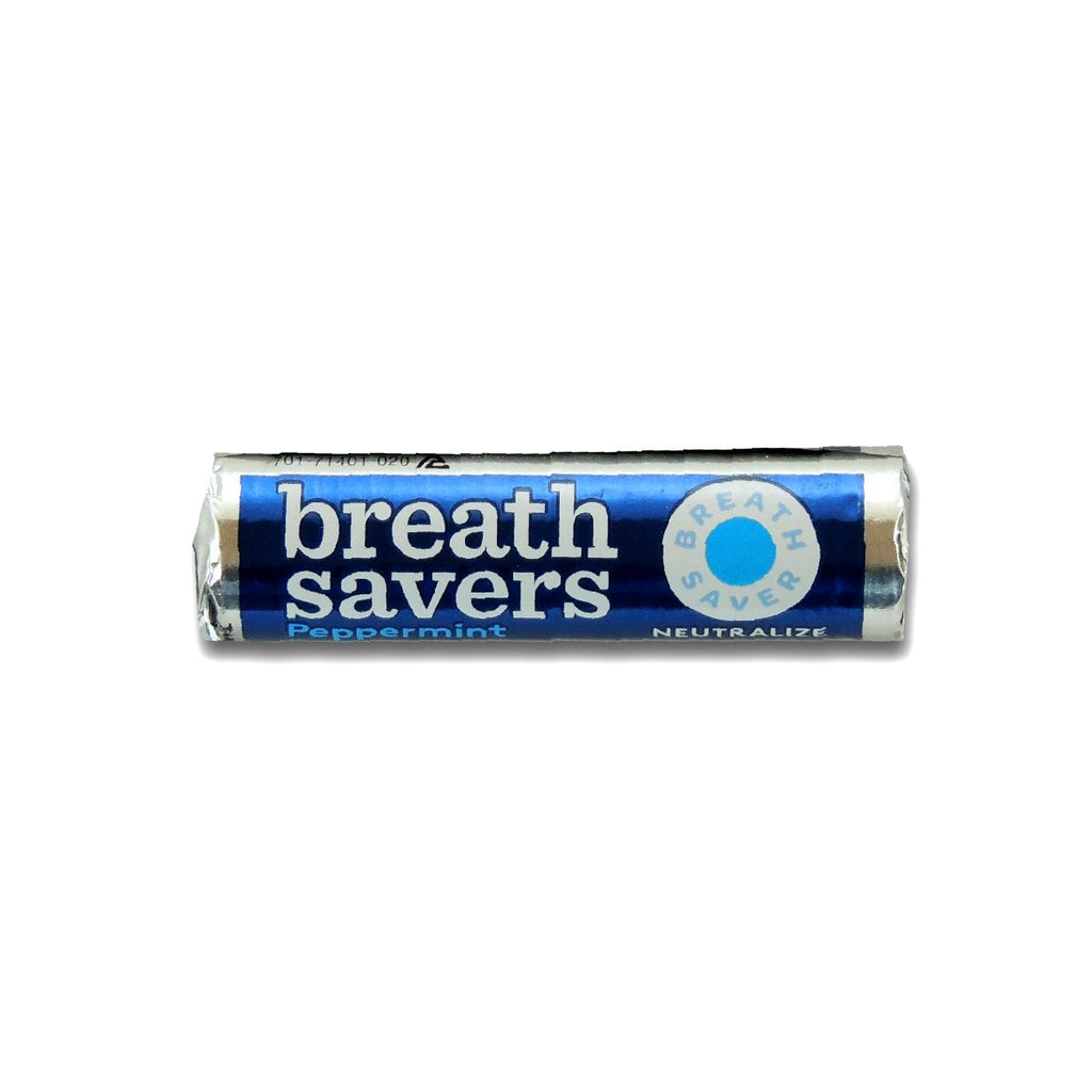 Breath Savers Mints Peppermint Roll 0.75oz