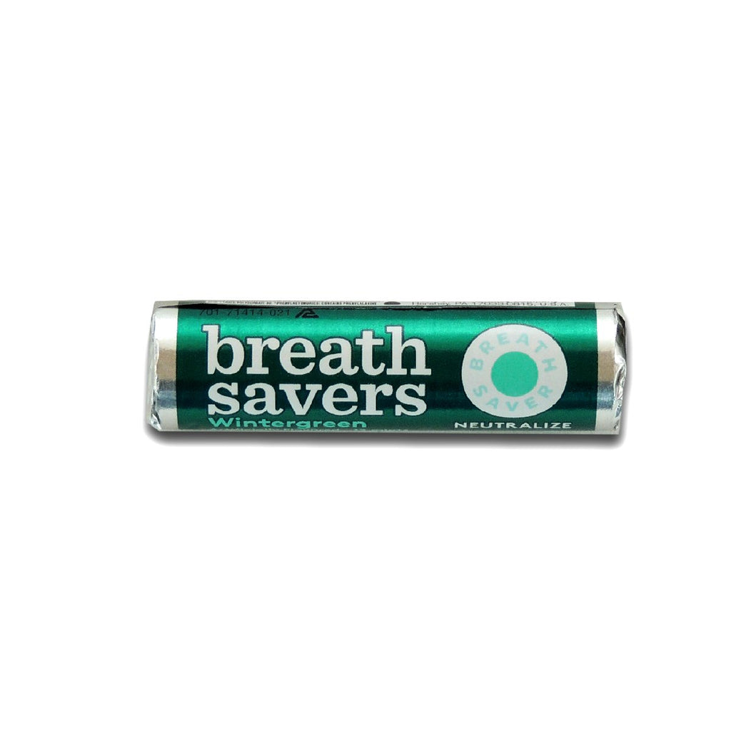 Breath Savers Mints Wintergreen Roll 0.75oz
