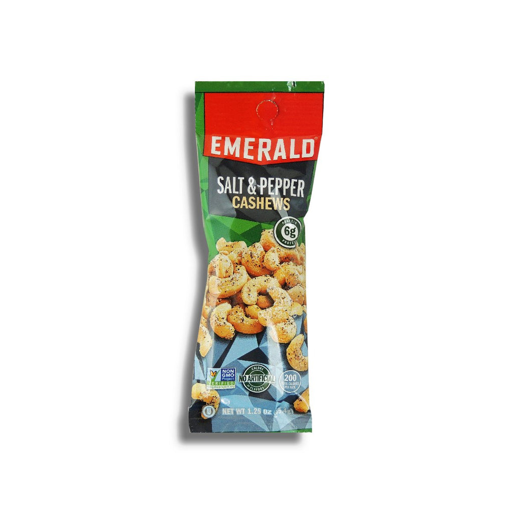 Emerald Sea Salt & Pepper Cashew 1.25 Oz