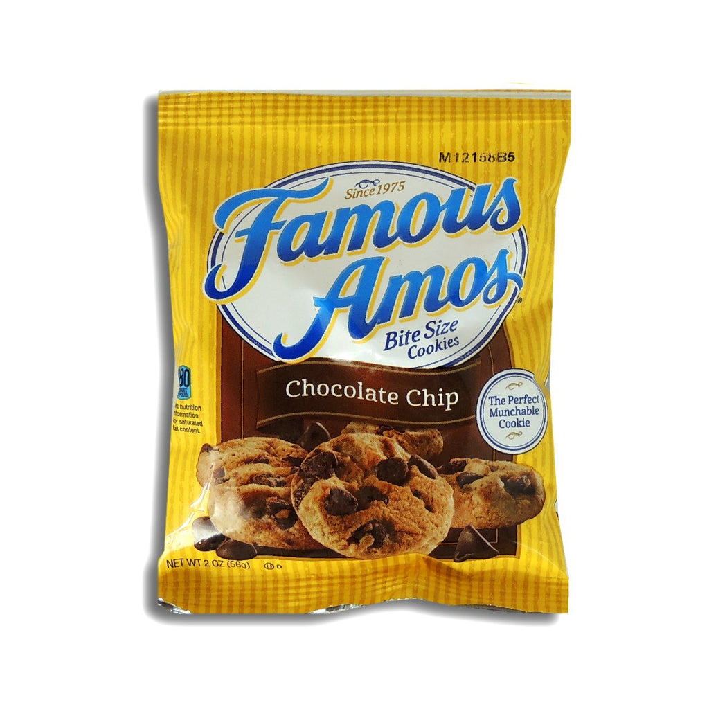 Famous Amos Chocolate Chip Bite Size 2oz