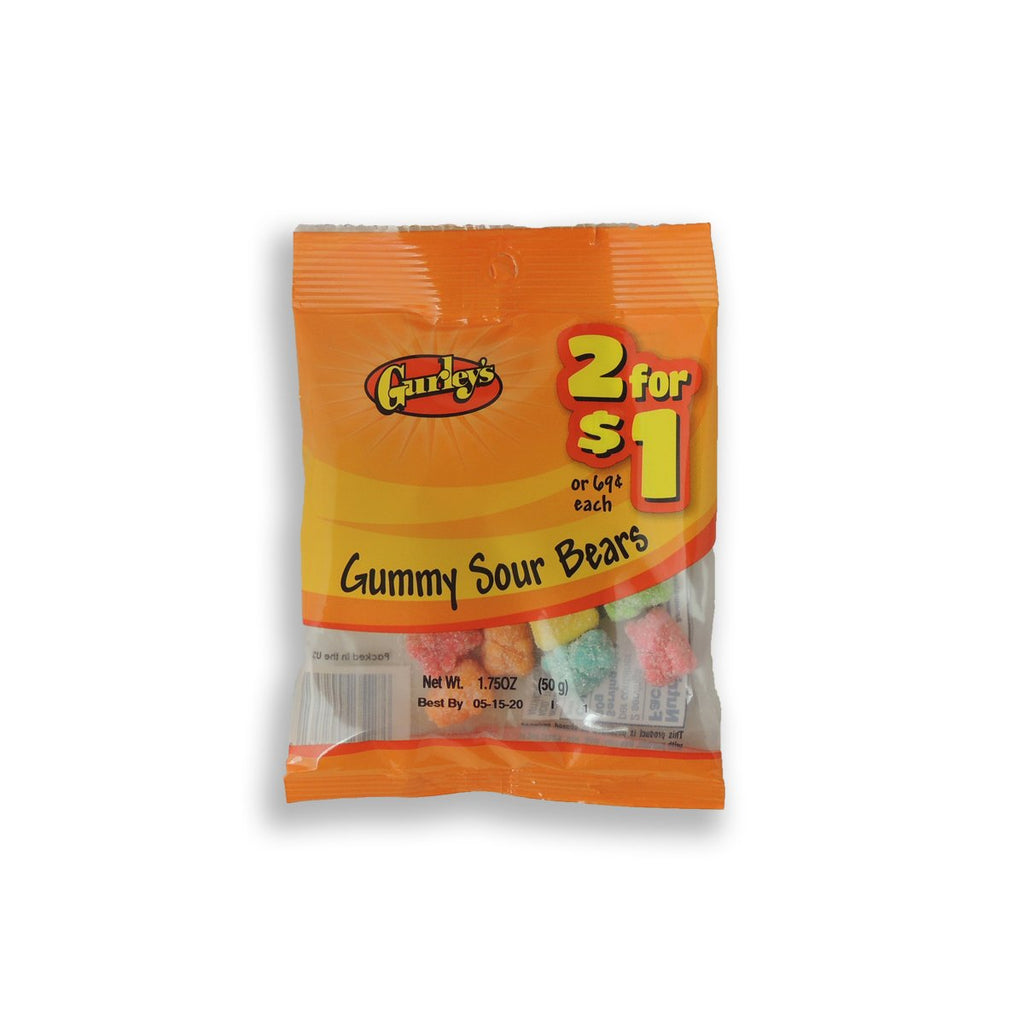 Gurleys Gummy Sour Bears