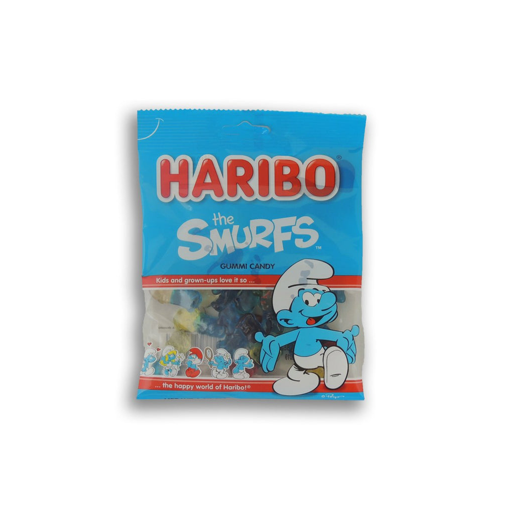 Haribo Peg Bag The Smurfs Gumi 4 Oz