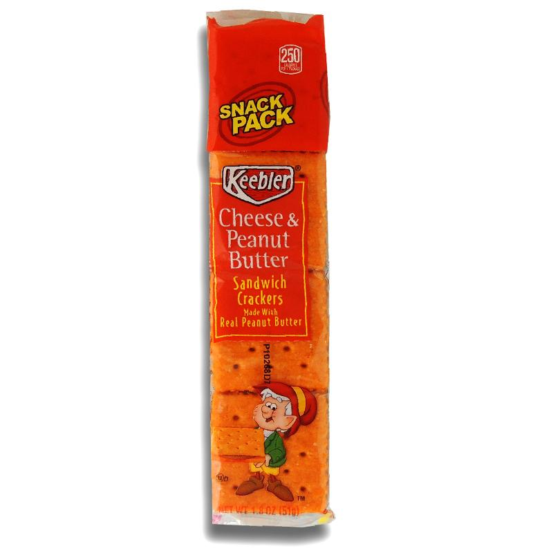 Keebler Sandwich Cracker Cheese & Peanut Butter 1.8oz
