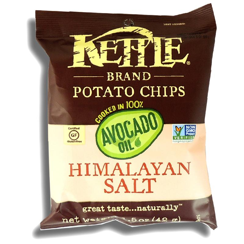 Kettle Brand Avocado Oil Himalayan Salt Chips 1.5 Oz
