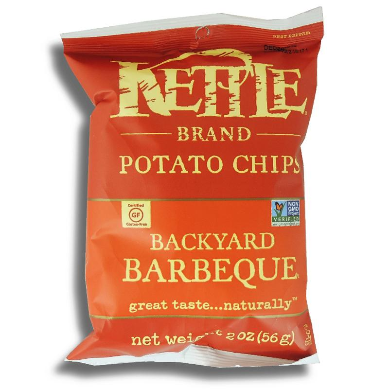 Kettle Brand Backyard Barbecue Chips 2 Oz
