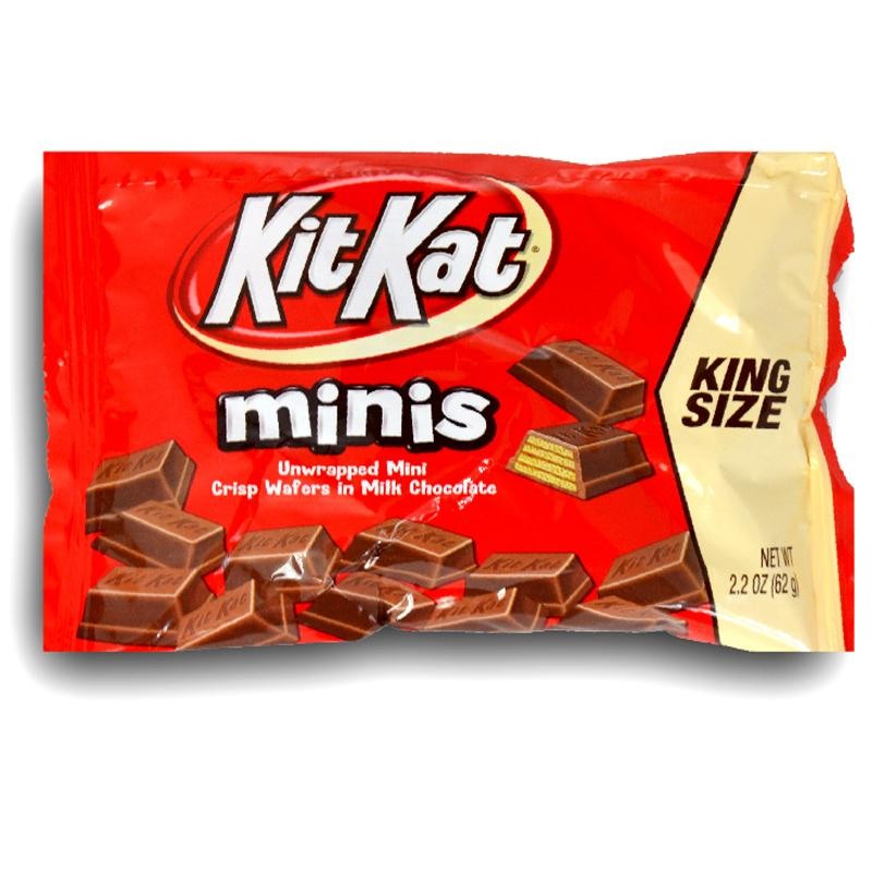 Kit Kat King Size Crisp Wafers Mini 2.2oz